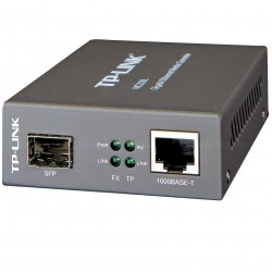 TP LINK Media Converter Gigabit Ethernet LC,multisingle mode MC220L