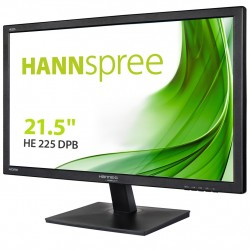 Hannspree Hanns.G HE225DPB monitor piatto per PC 54,6 cm 21.5 Full HD LCD Nero