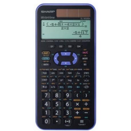 Sharp EL W506TBSL calcolatrice Scrivania Calcolatrice scientifica Nero