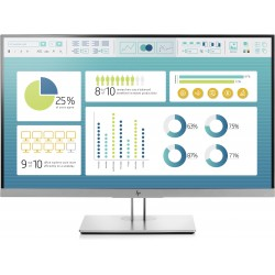 HP EliteDisplay E273 LED display 68,6 cm 27 Full HD Nero, Argento 1FH50ATABB