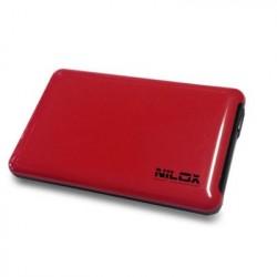 Nilox DH0002RD contenitore di unit di archiviazione 2.5 Enclosure HDD Rosso