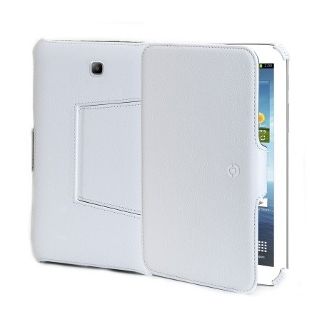 Celly BOOKTABT11W custodia per tablet 25,6 cm 10.1 Custodia a libro Bianco