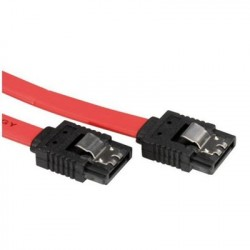 Nilox 1m SATA cavo SATA SATA 7 pin Nero, Rosso NX090305111