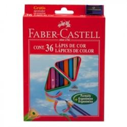 Faber Castell 120536 36pezzoi pastello colorato