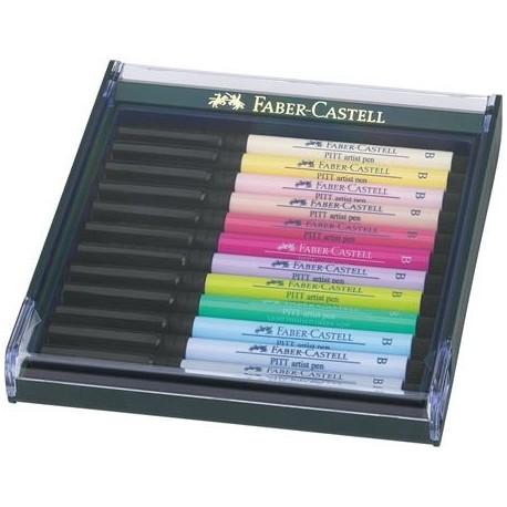 Faber Castell Pitt Artist Pen Pastel 267420 penna tecnica Multicolore