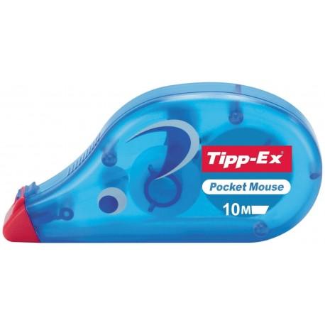BIC Pocket Mouse nastro di correzione Blu 10 m 10 pezzoi 8207892