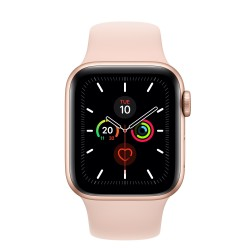 Apple Watch Series 5 smartwatch Oro OLED GPS satellitare MWV72TYA