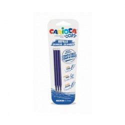 Carioca REFILL 3 PZ BLU OOPS