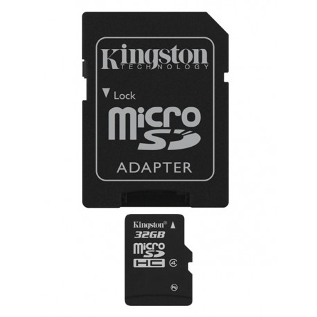 Kingston Technology  SDC432GB memoria flash MicroSDHC