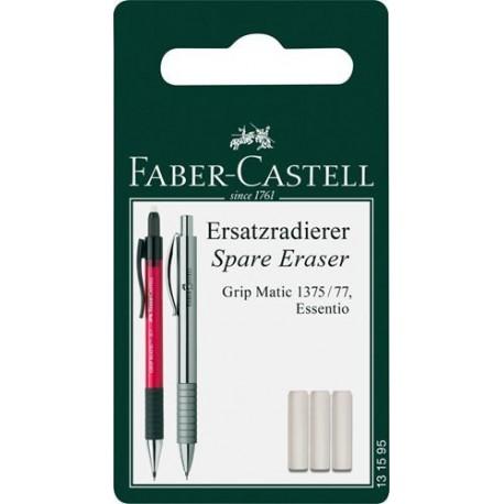 Faber Castell BLISTER 3 GOMMINI X PORTAMINE GRIP