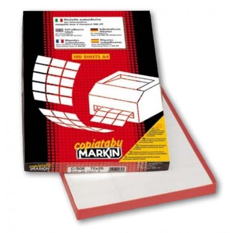 Markin CF600 ETICHETTE 6FGX100 101X95