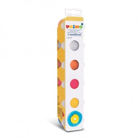 Primo CONF6 TEMPERA METALLIZZATA DA 25ML