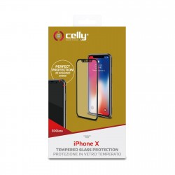 Celly 3D GLASS IPHONE X WH