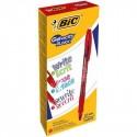 BIC Gel-ocity illusion Penna in gel con cappuccio Rosso 12 pezzoi 943442