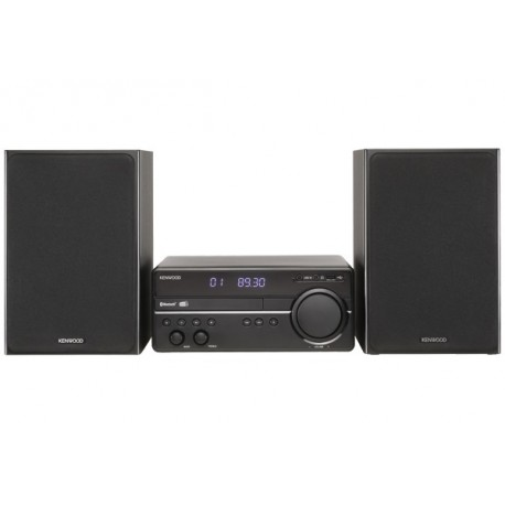 Kenwood STEREO MICRO DAB BT CD USB AUX IN BLACK