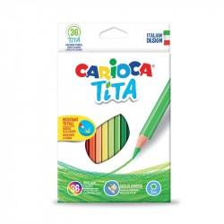 Carioca CONF36 MATITE COLORATE TITA ASS