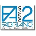 Fabriano Disegno 2 carta milllimetrata 110 gm 10 fogli 04004105