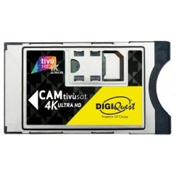 Digiquest SMARTCAM TIVUSAT 4K X TVDECODER SMARDTV