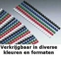 GBC Anelli plastici CombBind blu 6 mm 100 4028233