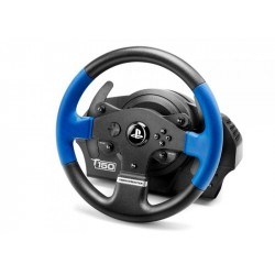 Thrustmaster T150 Force Feedback Sterzo Pedali PC, PlayStation 4, Playstation 3 Nero, Blu 4160628