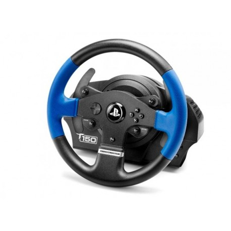 Image of Thrustmaster T150 Force Feedback Sterzo + Pedali PC,PlayStation 4,Playstation 3 USB Nero, Blu 4160628