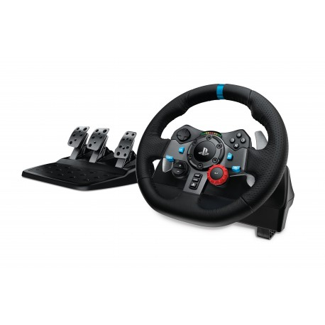 Image of Logitech G29 Sterzo + Pedali Playstation 3,PlayStation 4 Analogico USB 2.0 Nero 941-000112
