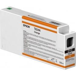 Epson Singlepack Orange T824A00 UltraChrome HDX 350ml C13T824A00