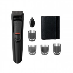 Philips MULTIGROOM Series 3000 6 accessori Lame in acciaio autoaffilanti 6 in 1, Barba MG371015
