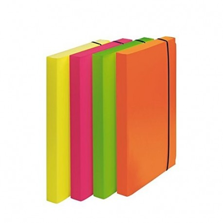 Fellowes CF4 CARTELLE PROGETTO FLUO SHOCKING