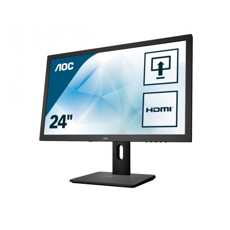 Image of AOC Pro-line E2475PWJ monitor piatto per PC 59,9 cm 23.6 1920 x 1080 Pixel Full HD LCD Opaco Nero