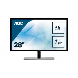 AOC Value line U2879VF monitor piatto per PC 71,1 cm 28 3840 x 2160 Pixel 4K Ultra HD LCD Nero