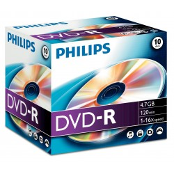 Philips 1x10 DVD R 4,7GB 16X JC