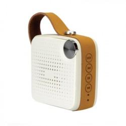 MFI Speaker Bluetooth portatile Bianco Vintage MFIEG11