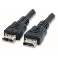 Manhattan Cavo HDMI-HDMI 19 pin M-M 1 mt