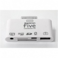 Kentron Connection Kit multi-funzione per I-Pad (5-in-1) KEFIVE
