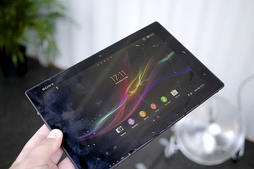 Come applicare pellicola su tablet